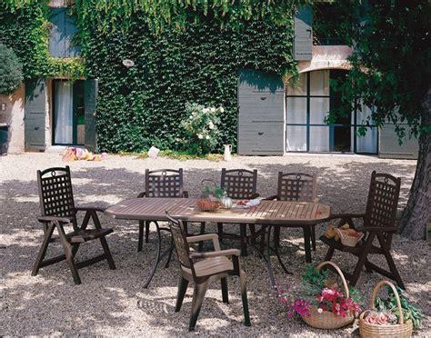 fauteuil pvc jardin grosfillex modele bora 1 bronze