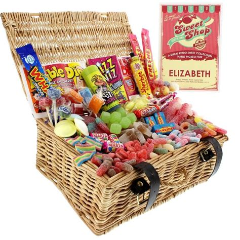 Fizzy Retro Sweets Hamper - Find Me A Gift
