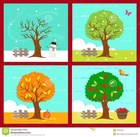 four seasons clipart clipart suggest