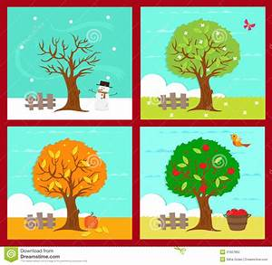 Four Seasons Clipart - Clipart Suggest