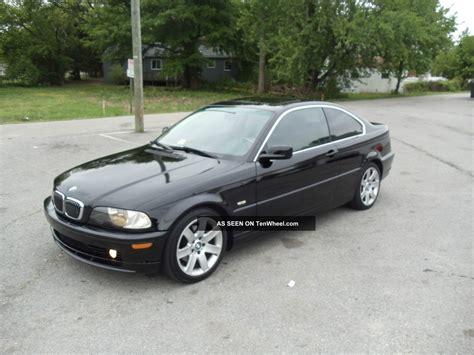 2002 Bmw 325ci 5 Speed Manual Black 2 Door Coupe