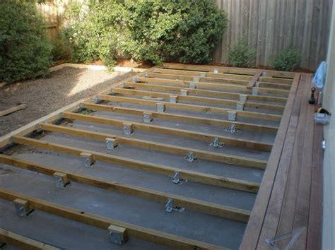 building a deck an existing concrete patio minimalist terasz padl 243 21mm e kert