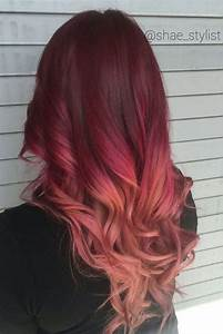 32 Best Red Ombre Hair Color Ideas