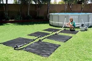 Tapis Piscine Hors Sol : chauffage tapis solaire pour piscine jusqu 39 30 m jardideco ~ Dailycaller-alerts.com Idées de Décoration