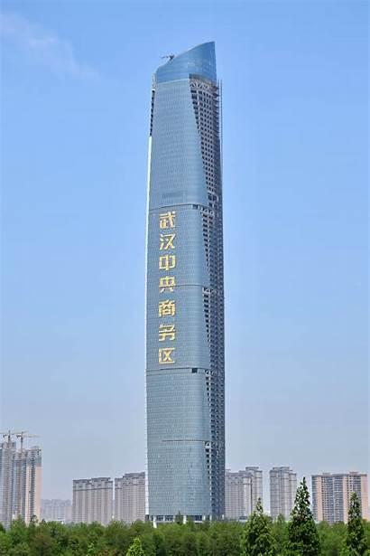Wuhan Mundo Wikipedia Altos Buildings Edificios Tallest