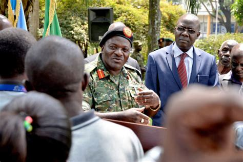 He is the chief of defense forces of uganda, the highest military rank in the uganda people's defense force (updf). Army to preserve peace, not shoot people - says Katumba - Daily Monitor