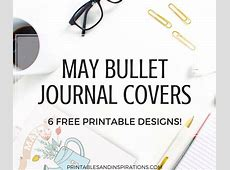 May Bullet Journal Cover Page Ideas Free Printables