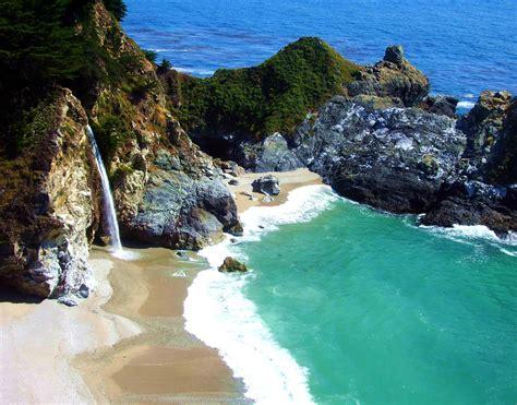 Free Images Beach Sea Coast Rock Ocean Waterfall