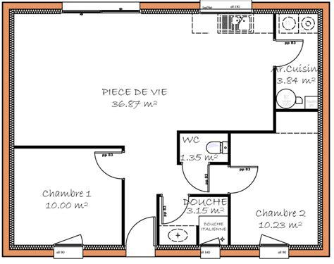 plan de maison 3 chambres salon avant projets de construction de maison en loire atlantique