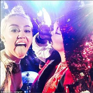 Lily Allen posts video of her and Miley Cyrus cavorting on ...
