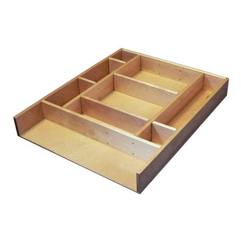 wooden kitchen drawer organizers rev a shelf ld 4ct15 1 small customizable drawer kit 1637