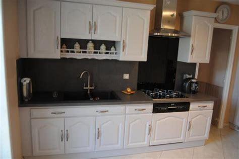 relooking de cuisine relooking cuisine en gris patiné blanc