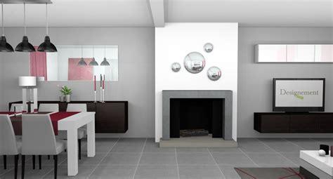 salon cuisine design amenagement salon cuisine 30m2 idees de decoration