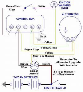 Amp Gauge Wiring Diagram Delco Alternator