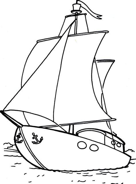 www clipart ausmalbilder segelschiff ausdrucken malvorlagen