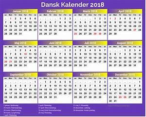 Kalender 2018 med helligdage newspicturesxyz