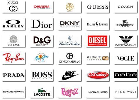 Glasses brands Logos