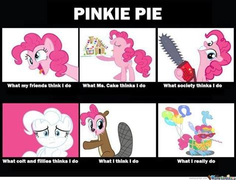 Pinkie Pie Meme - pinkie pie by snkieche meme center