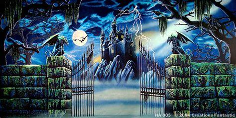 Backdrop Australia by Haunted Castle Backdrops Fantastic Australia