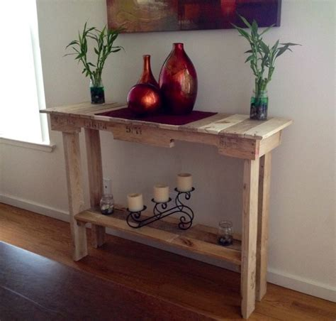 Wooden Pallet Side Table   Pallet Ideas: Recycled