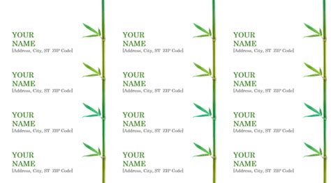 stunning template designs  address labels thogati