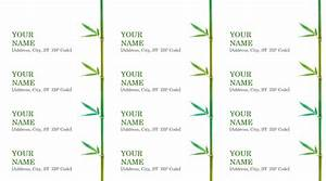 39 stunning template designs for address labels thogati With address label design templates