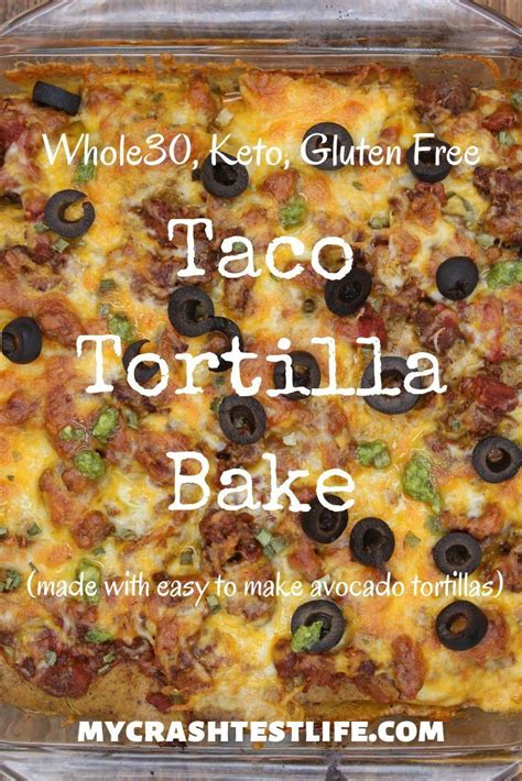 Ground turkey can be used instead of ground pork to reduce the caloriessubmitted by full ingredient & nutrition information of the quick 4 ingredients salsa turkey meatloaf calories. Taco Tortilla Bake (Whole30, Keto, Gluten Free, Dairy Free ...
