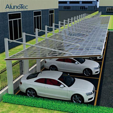 Economic Aluminum Back Pull Carport For Car Parking