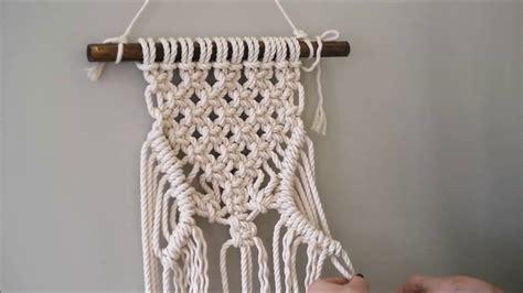 macrame knots youtube