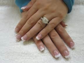 Nail art las vegas pink and white nails