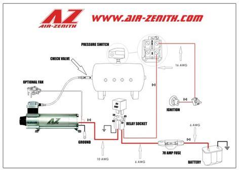 air compressor hook  diagrams