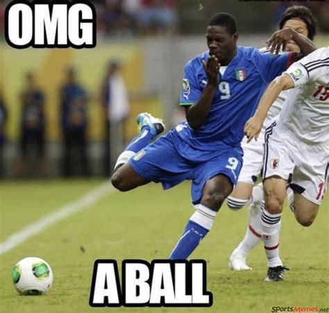 Soccer Hockey Meme - soccer player scared of a ball meme
