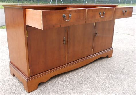 Yew Sideboards by Sold Yew Three Door Sideboard Base By Strongbow