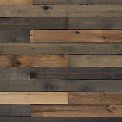 Reclaimed Barn Wood Style Weathered Hardwood Rustic Boards