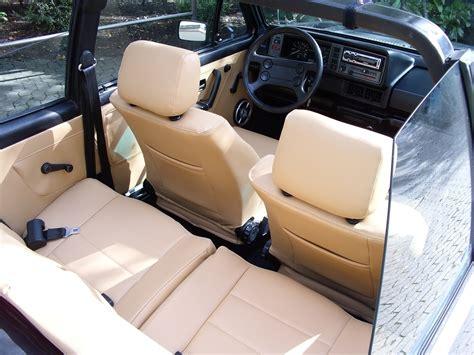 housse siege golf 1 cabriolet golf cabriolet mk1 siége de cuir artificiel couvre en beige