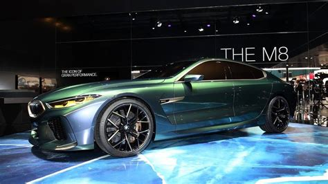 Bmw Concept M8 Gran Coupe Previews Stunningly Proportioned