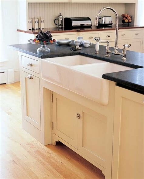 what type of apron front sink material is best also