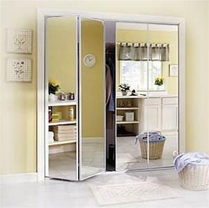Porte Placard Pliante : les portes de placard pliantes pour un rangement joli et ~ Farleysfitness.com Idées de Décoration