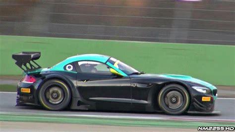 Bmw Z4 V8 bmw z4 v8 gt3 sound on track