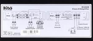 Boss R3400d Riot 3400w Mono Block Class D Car Audio Power
