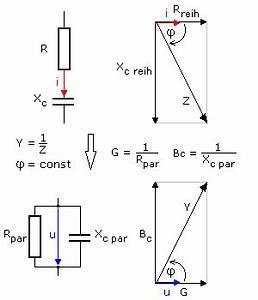 Kondensator Berechnen Wechselstrom : quivalente reihen und parallelschaltungen im wechselstromkreis ~ Themetempest.com Abrechnung