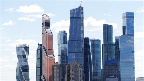 Moscow Tallest Skyscraper Crown City Business