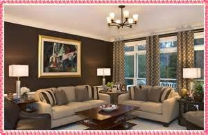 brown color scheme in contemporary living room design