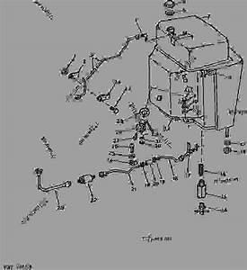 Fuel Tank - Tractor John Deere 4450 - Tractor