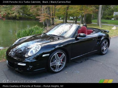 porsche 911 convertible black black 2008 porsche 911 turbo cabriolet black carrera