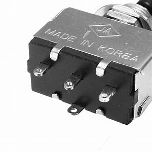 2 U201d Silver Electric Guitar 3 Way Toggle Switch Pickup