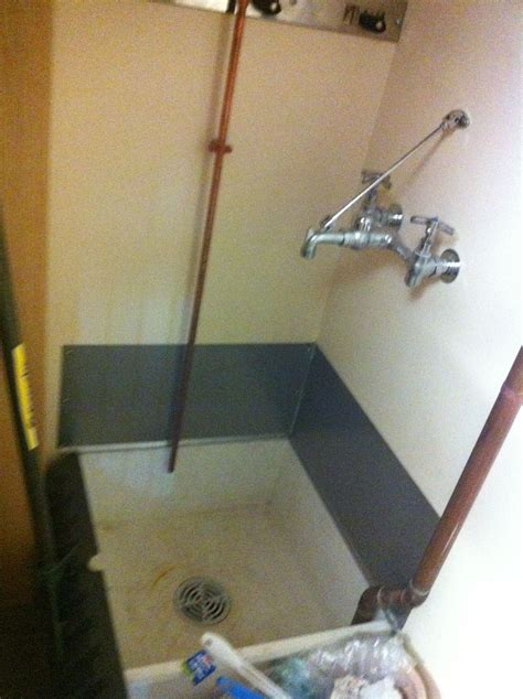 buckland library sink  janitors closet erving