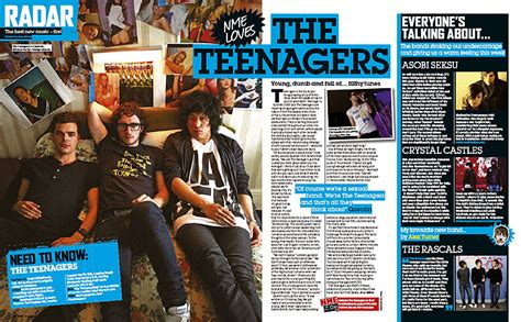 Examples Of Music Magazine Double Page Spreads