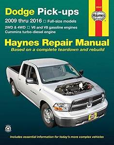 Dodge Pick-ups 2009 Thru 2016  2wd  U0026 4wd