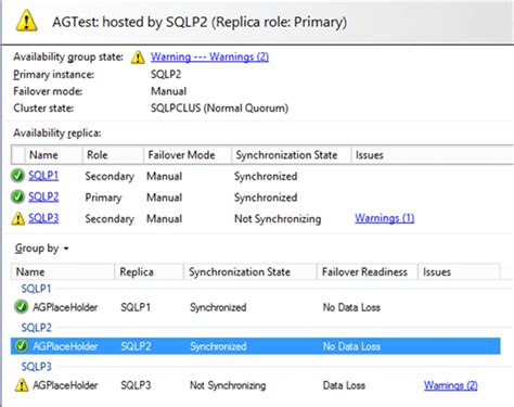 T Sql Resume Data Movement by Recover Wsfc Using Forced Quorum For Sql Server Alwayson Availability